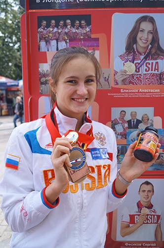 Юлия Ларина - призер Первенства Европы и Мира, победитель Первенства России, мастер спорта международного класса