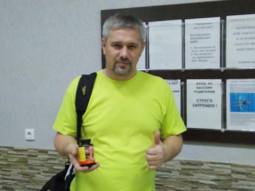 Алексей Ильин - тренер ДЮСШ по плаванию, г.Самара