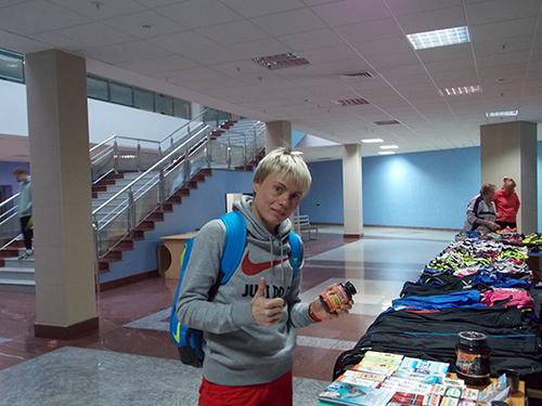 Лариса Клейменова - мастер спорта по дзюдо, мастер спорта международного класса по легкой атлетике в беге на 100 км г.Курск