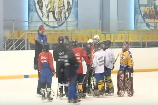 видео о подготовке хоккеистов
