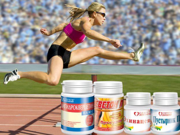 Адаптогены для всех видов спорта