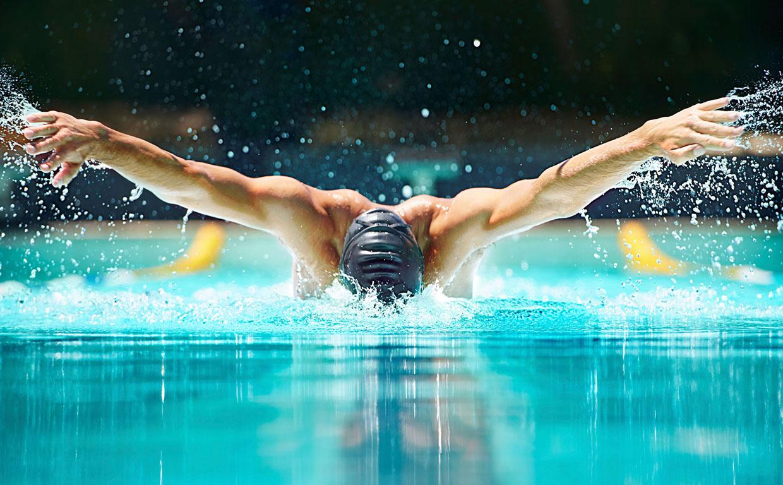 Леветон для пловцов