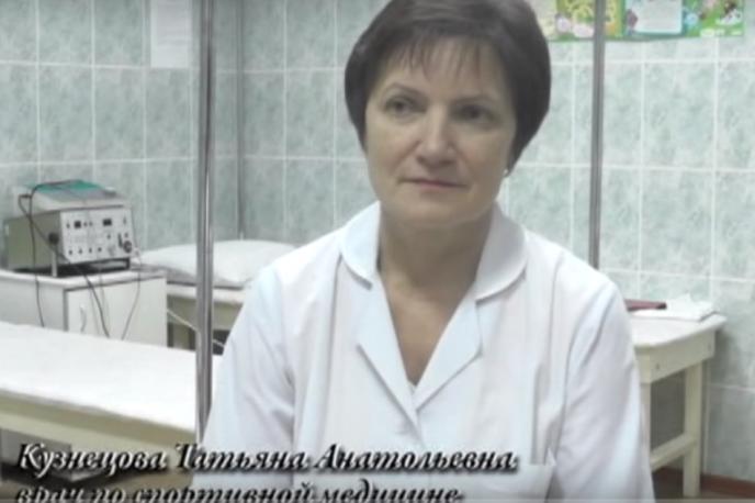 Видео с врачом спортивной медицины Татьяной Кузнецовой
