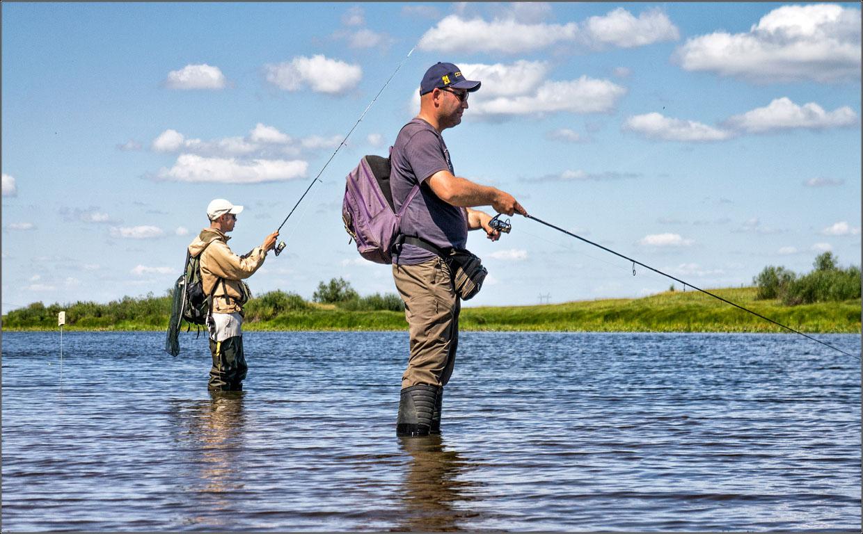 Рыболовство в России