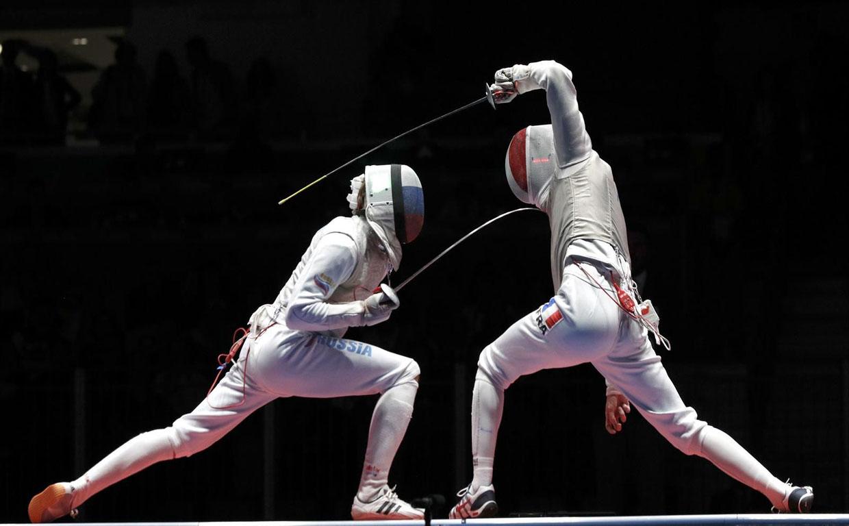 Соревнования по фехтованию