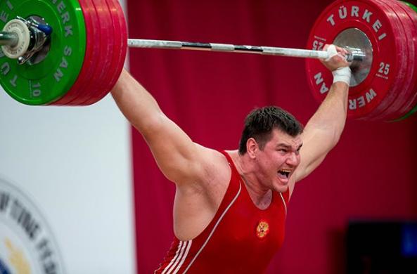 Тяжелоатлет Алексей Ловчев и допинг