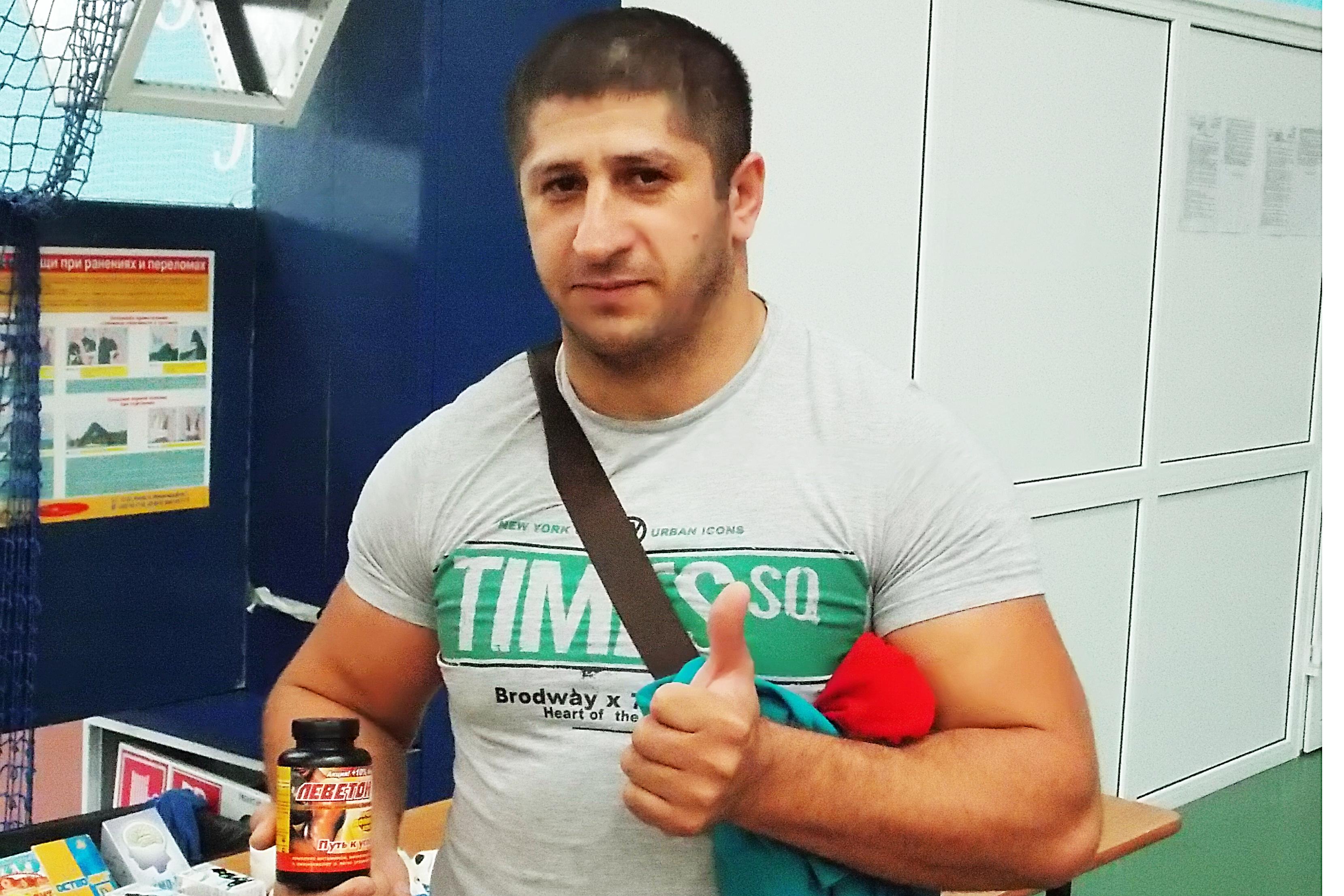Рамзан Ахмадов тренер по самбо Грозный