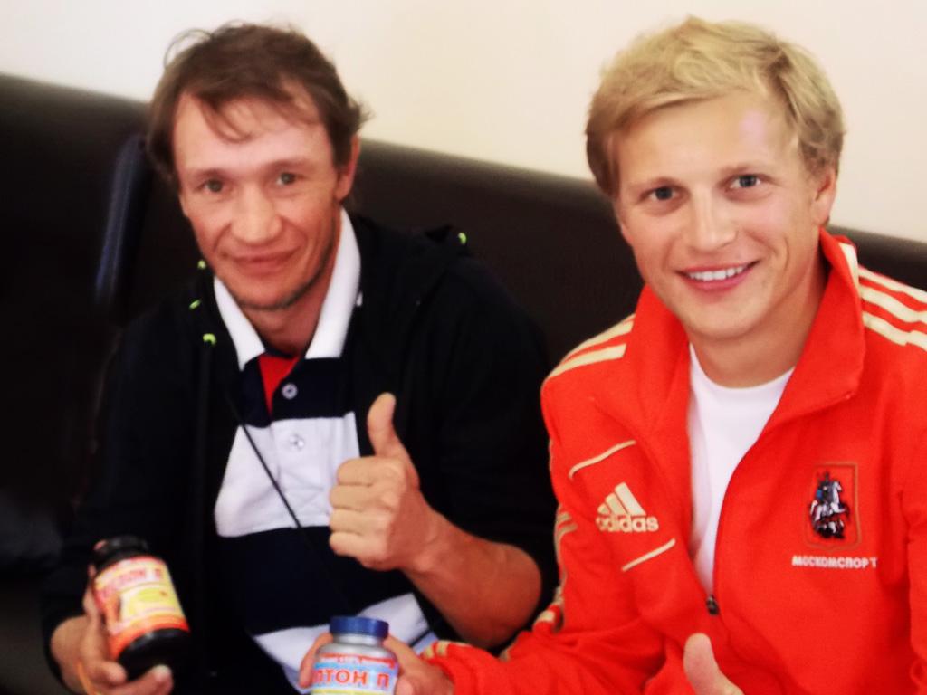 Александр Никульшин и Голдовский Кирилл триатлон г. Москва