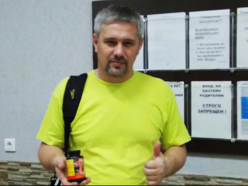 Алексей Ильин тренер по плаванию ДЮСШ г. Самара