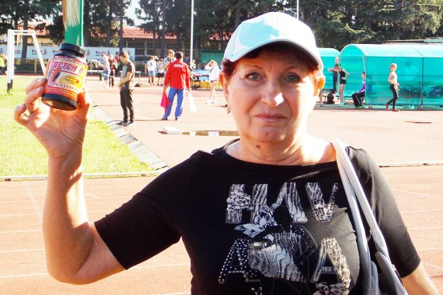 Валентина Степановна Буллер засл тренер по легкой атлетике Хабаровск