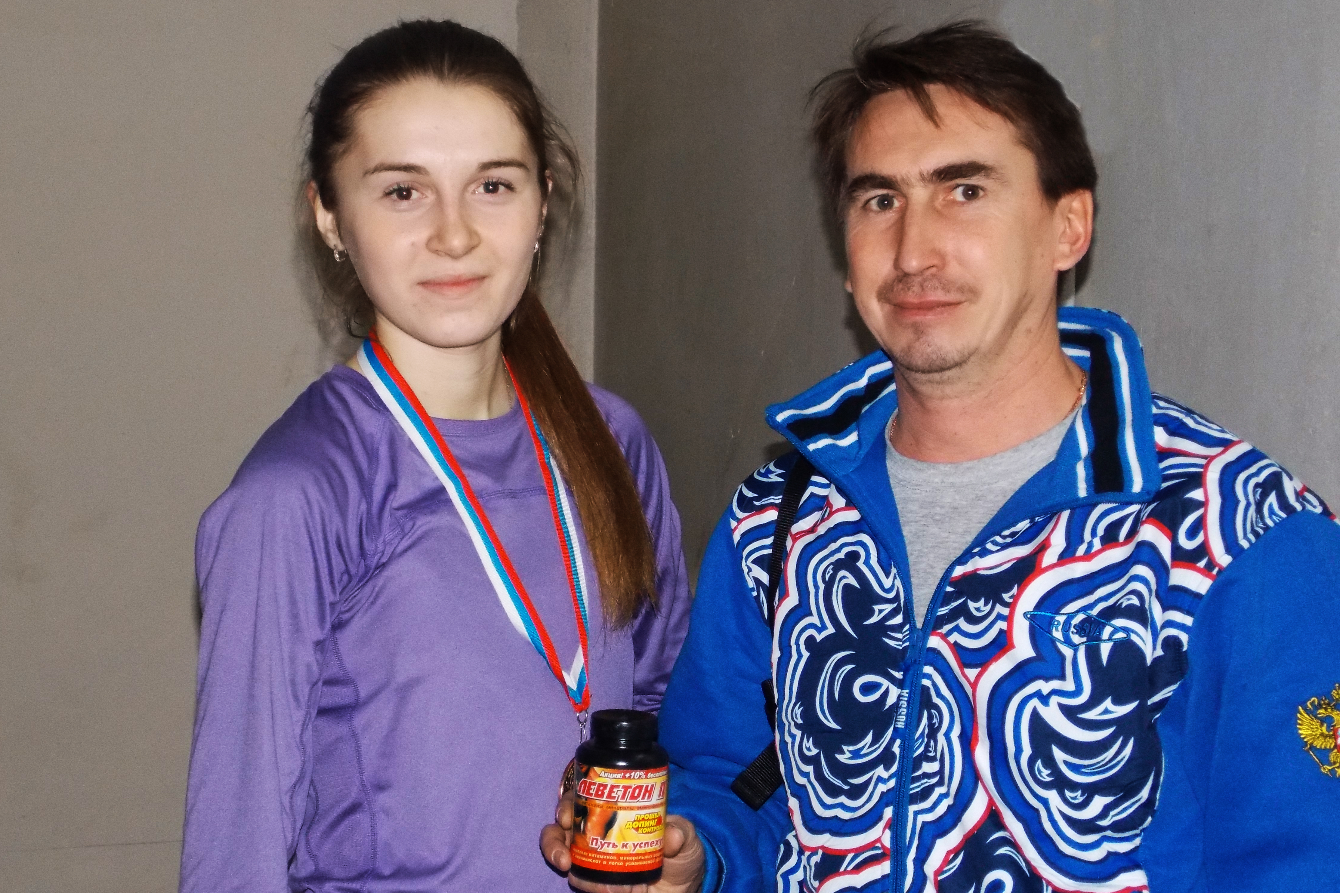еговкина юля бронзовый призер первенства росси по легкой атлетике и тренер поздиев михаил г ижевск