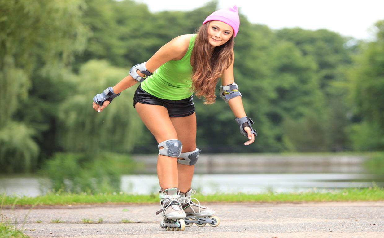 Катание на роликах для похудения: весело и полезно