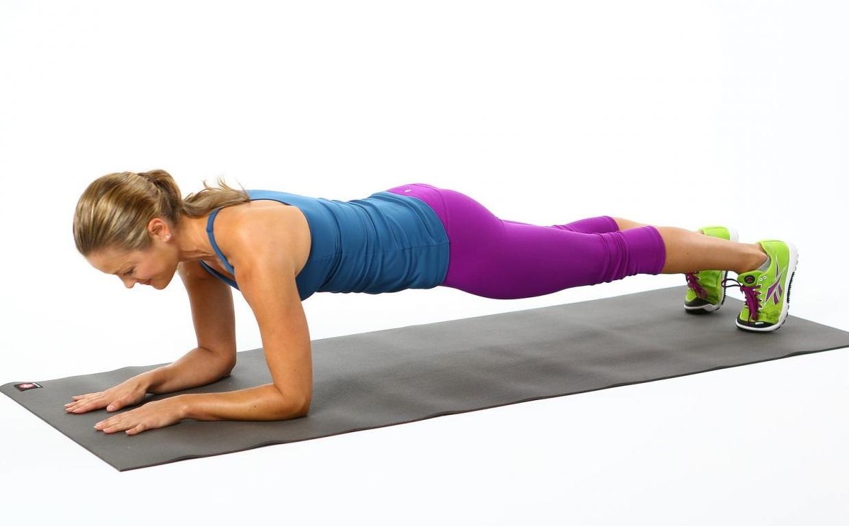 Упражнение Планка для похудения и укрепления мышц всего тела