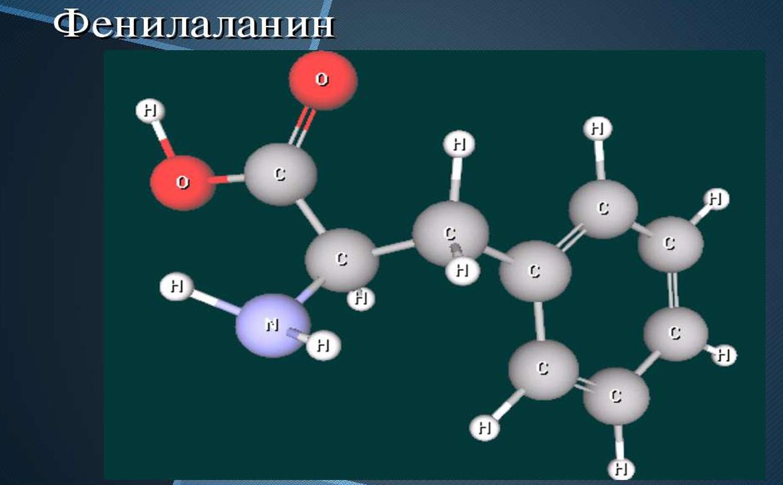 Фенилаланин  что это такое химическая формула польза и вред