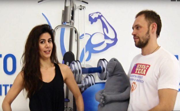 тренировка с Марией Лукьяниной