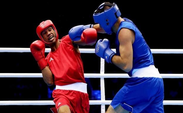 Тренировки боксеров