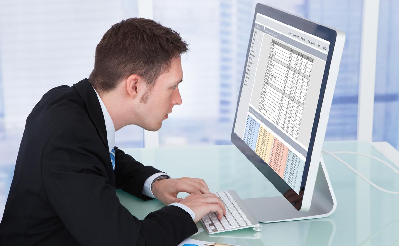 Сидячая работа за компьютером