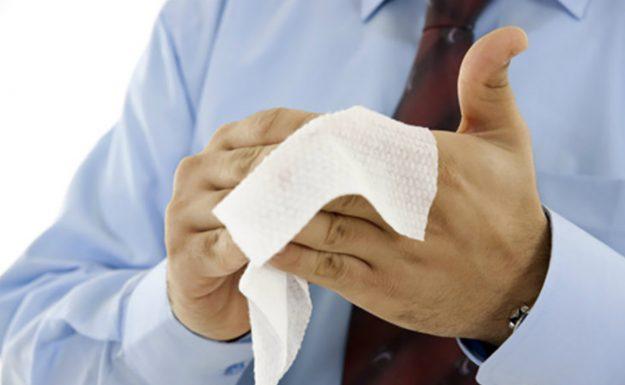 антибактериальные салфетки