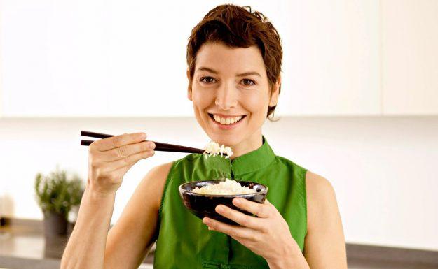 рис при похудении